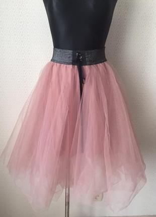 c427507ba7a Новая (с этикетокй) нарядная фатиновая юбка размер s от молодежного бренда  tally weijl