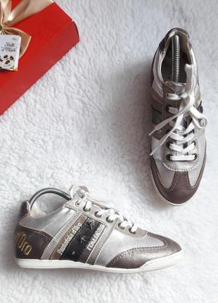 Кроссовки pantofola d'oro кожа