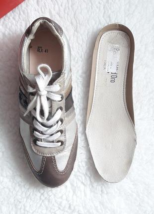 Кроссовки pantofola d'oro кожа5 фото
