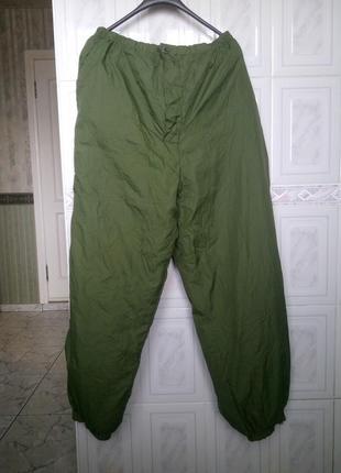 Теплые реверсивные штаны на охоту рыбалку