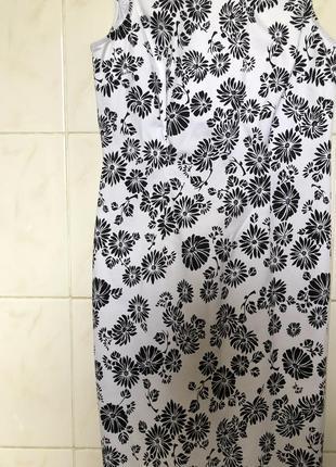 Платье сарафан  в цветочный принт zara4 фото