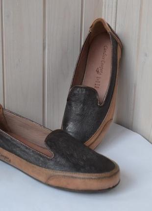 Дизайнерские кожаные сникерсы candice cooper 35 р. оригинал.