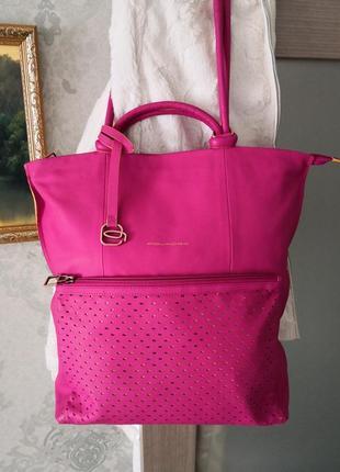 Роскошная кожаная сумка piquadro оригинал!