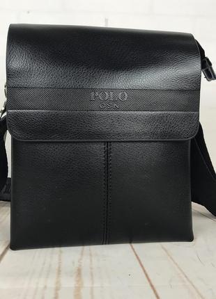 22bd2d2a20b5 Небольшая мужская сумка - планшет polo с ручкой. небольшая сумка. кс34