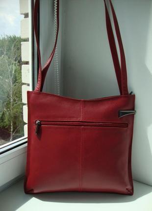 Шкіряна фірмова англійська сумка jane shilton. оригінал!!!5 фото