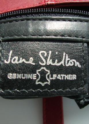 Шкіряна фірмова англійська сумка jane shilton. оригінал!!!9 фото
