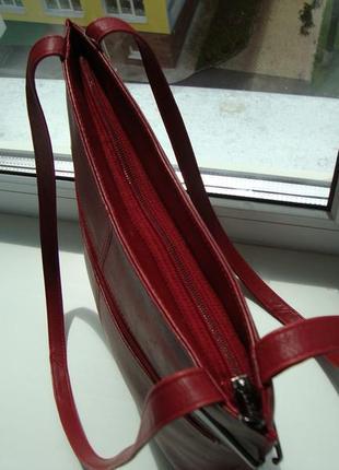 Шкіряна фірмова англійська сумка jane shilton. оригінал!!!7 фото