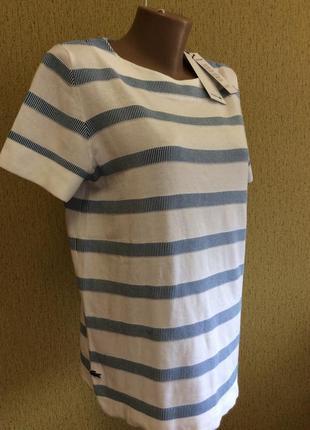 Женский новый свитер футболка lacoste оригинал чистая франция размер 40