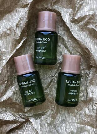 🍃the saem urban eco harakeke toner { тестер} - тонер