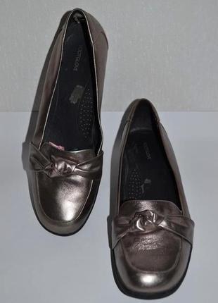 Footglove ортопедические мокасины туфли. натуральная кожа