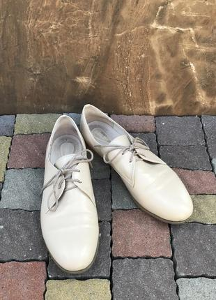 Топаночки / туфлі шкіряні soldi