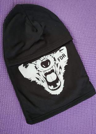 Балаклава підшльомник маска подшлемник украина вовк волк