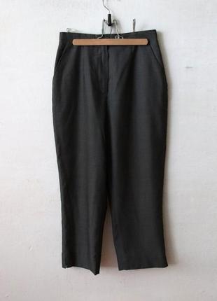 Укороченные брюки jean paul gaultier шерсть в составе