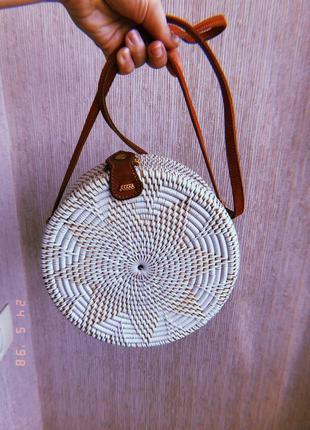 Плетеная сумка с бали