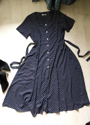 42e72dae64d Красивое платье в горошек 20р george