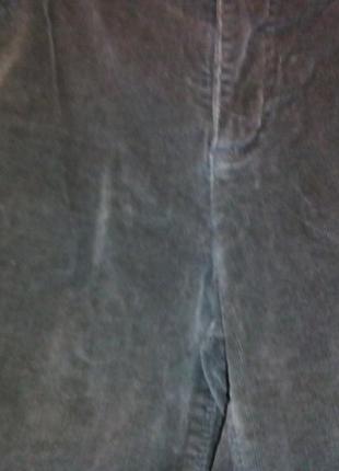 Серые вельветовые шорты-л-хл6 фото