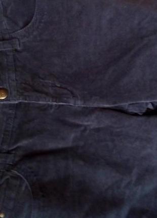 Серые вельветовые шорты-л-хл8 фото
