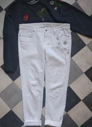 Крутые брюки со стразами от cambio