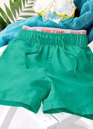 Пляжные шорты для мальчика со скрытым узором тсм tchibo. 134-140