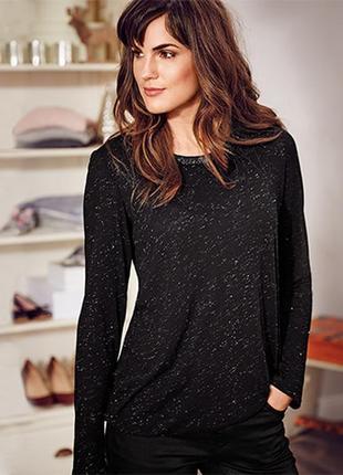 Элегантная блуза с блестящей нитью от tcm tchibo германия