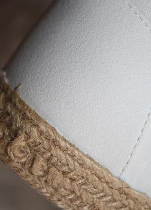 Идеальные кеды под замшу с плетеной основой5 фото