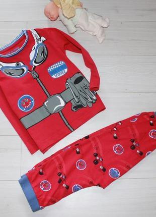 Пижама на 3-4 года хлопок matalan