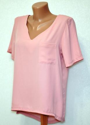 Блуза пудрового цвета atmosphere, размер l