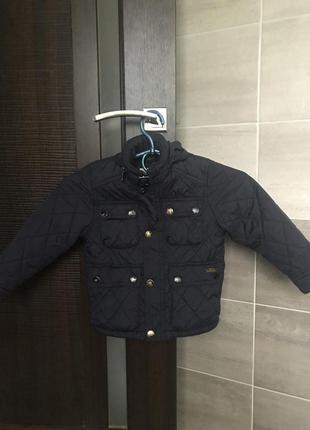 Курточка zara на мальчика