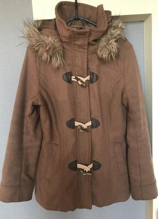 Продам зимнее полу пальто h&m