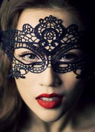 5-34 маска/ кружевная маска/ эротическое белье/ карнавальная маска