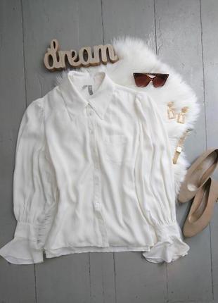 Невероятная актуальная лёгкая свободная шифоновая блуза в викторианском стиле №19max