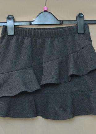 Юбка для девочки kiabi размер 10 лет