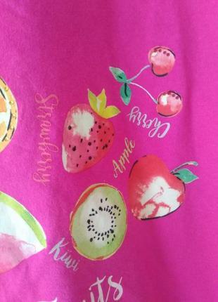 Яркая футболка летние фрукты от bonmarche5 фото
