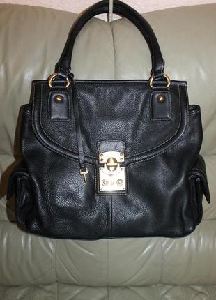 Фирменная сумка из натуральной кожи jasper conran