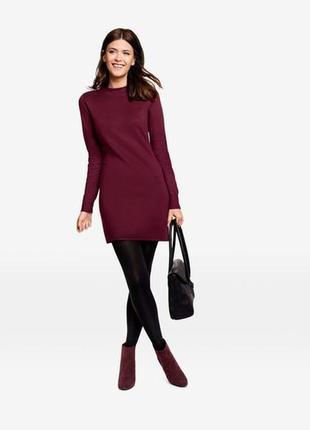 Трикотажное платье женское esmara размер l 44-46 евро наш 50-52 смотрите замеры