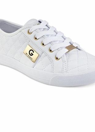 Кожаные белые кеды guess 38-39 размер
