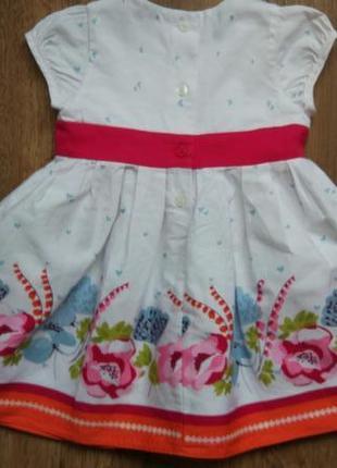 Сказочное нарядное платье сарафан marks&spencer на 3-6 месяцев2 фото