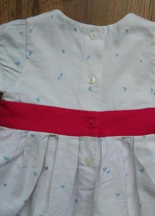 Сказочное нарядное платье сарафан marks&spencer на 3-6 месяцев4 фото