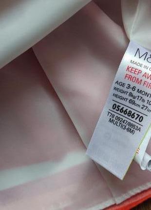 Сказочное нарядное платье сарафан marks&spencer на 3-6 месяцев9 фото