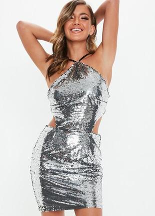 6eb6fe889ef Платье с пайетками женские 2019 - купить недорого вещи в интернет ...