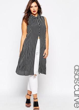 Длинная блуза- туника аsos на 22-24 размер.