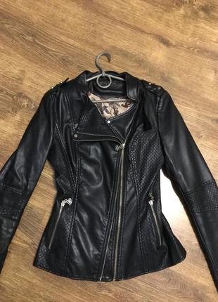 Куртка экокожа2 фото