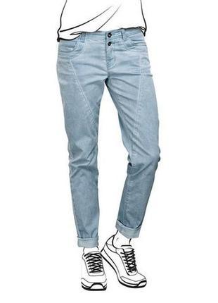 Стильные джинсы-бойфренды  тсм tchibo (германия), евро 40 наш 46.