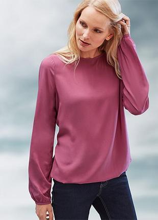 Красивая блуза из вискозы от tcm tchibo, германия!