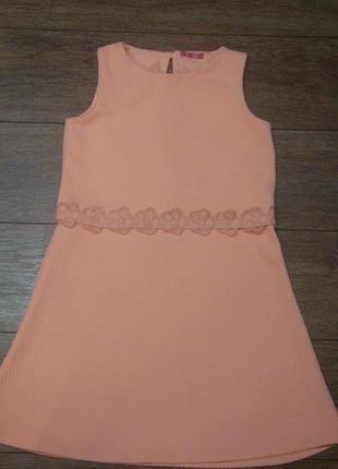 Красивое платье young dimension 12-13 лет