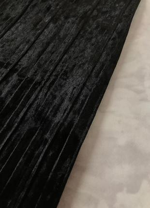 Велюровые кюлоты-плиссе  pn19210212 фото