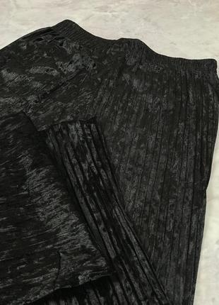 Велюровые кюлоты-плиссе  pn19210213 фото