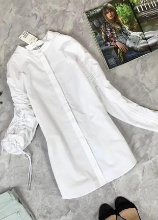 Мегастильная рубашка оригинального кроя  bl1921128 h&m