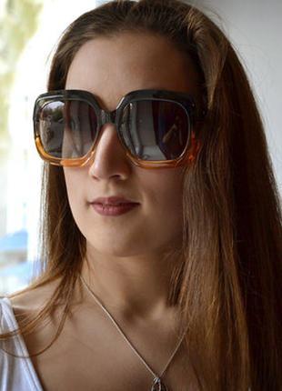 Женские солнцезащитные очки с поляризацией. уф 400