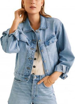 Нова стильна джинсова куртка🔥🔥🔥🔥🔥🔥1 фото